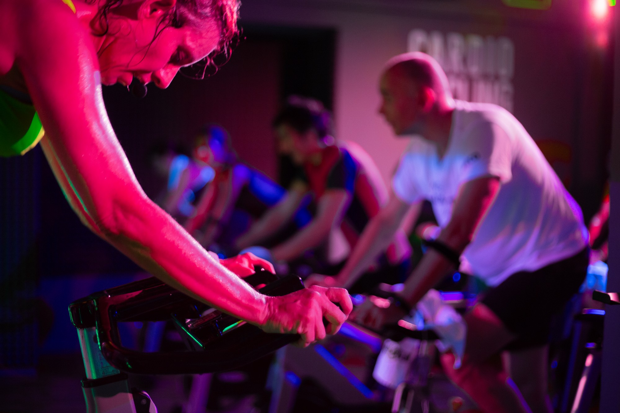 lezione cardio cycling
